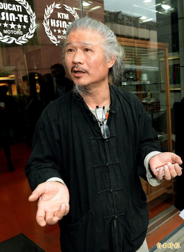 胡先生表示,台研所的許雪姬曾答應要在2008選前公布228史料,卻在選舉前夕反悔了。(資料照,記者林正堃攝)