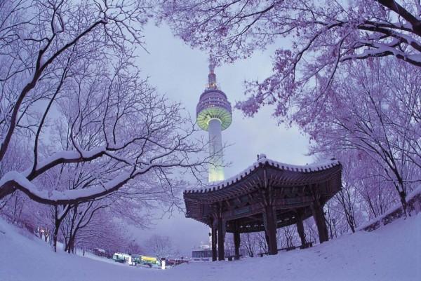 韓國首爾塔。(韓國觀光公社提供)