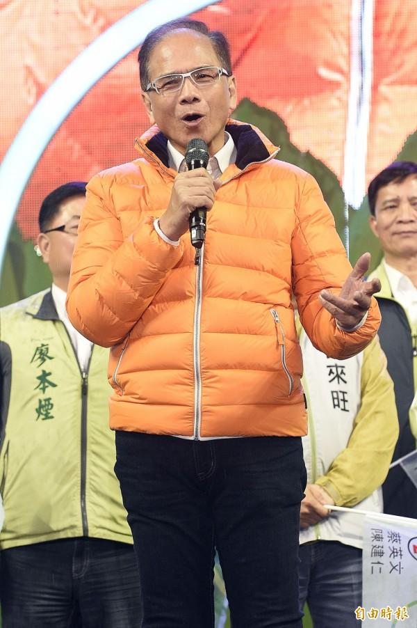 游錫堃認為,未來若繼續維持「中國國民黨」的價值觀,在台灣不會有前途的。(資料照,記者陳志曲攝)