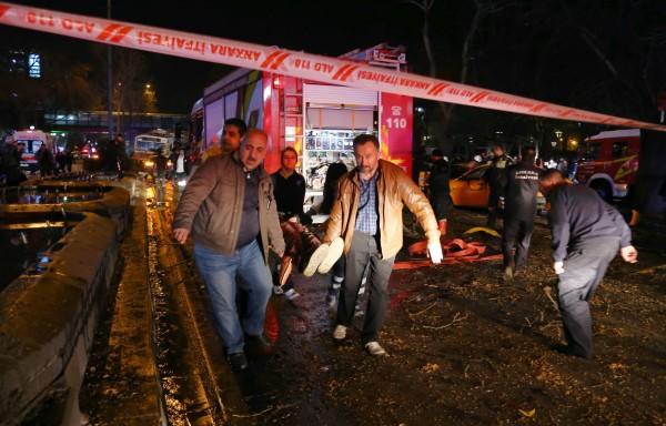 爆炸案造成大量人員傷亡。(美聯社)