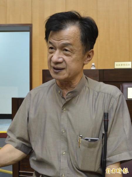 內定將出任新政府法務部長的桃園市副市長邱太三。(資料照,記者謝武雄攝)