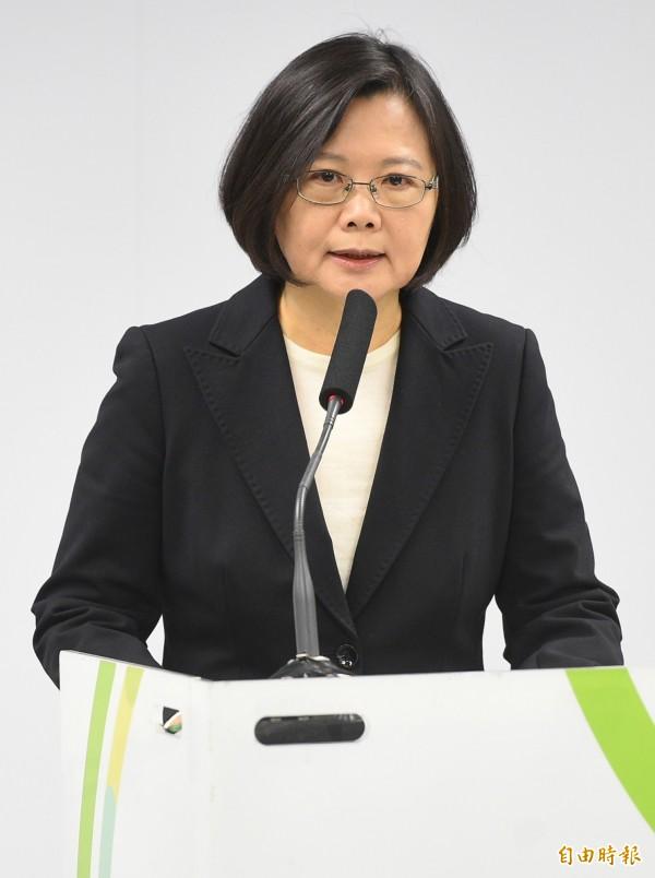 蔡英文透過民進黨發言人阮昭雄表示,外交沒有藍綠,當前台灣的外交情勢並不輕鬆,需要全體國人團結面對,一致維護我們國際空間。(資料照,記者張嘉明攝)