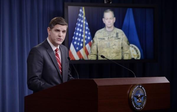 美國五角大廈昨天表示,受伊斯蘭國(IS)火箭攻擊,一名美軍命喪伊拉克,這是自2014年向IS宣戰以來,第二名美軍死亡。(法新社,資料照)