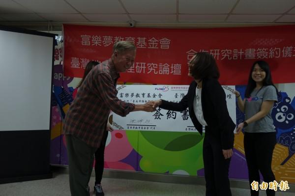 富樂夢教育基金會與台灣地方治理研究論壇合作,盤點二官語資源。(記者黃文鍠攝)