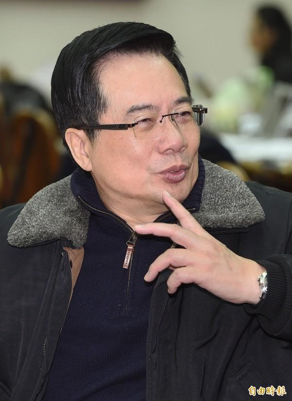 前立委蔡正元諷刺蔡英文,「也不知道是誰口氣太大」。(資料照,記者廖振輝攝)
