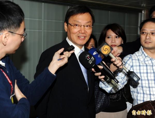 前國安會秘書長蘇起(圖),為洪奇昌抱屈。(資料照,記者張嘉明攝)