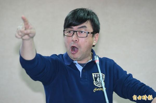 民進黨立委段宜康。(記者張嘉明攝)