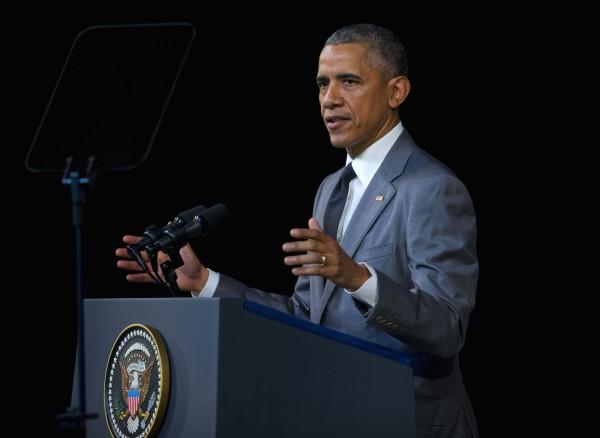 美國總統歐巴馬表示,將採取一切必要措施,協助比利時抓到布魯塞爾爆炸案兇嫌。(美聯社)