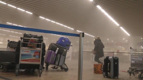 比利時布魯塞爾機場和地鐵今天發生爆炸攻擊造成死傷慘重。(美聯社)