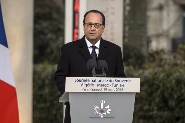 法國總統歐蘭德認為恐怖攻擊瞄準的目標其實是整個歐洲。(美聯社)
