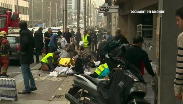 比利時布魯塞爾機場及地鐵發生恐攻爆炸案,中華民國政府譴責暴力。(路透)