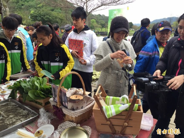 桃園至善高中105學年成立農產行銷科。(記者李容萍攝)