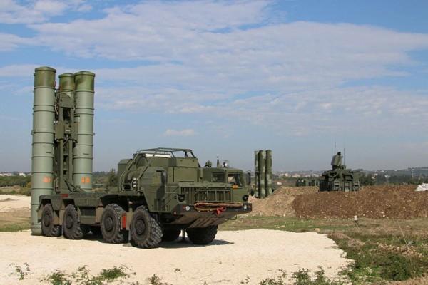 俄羅斯S-400防空飛彈系統。(法新社)
