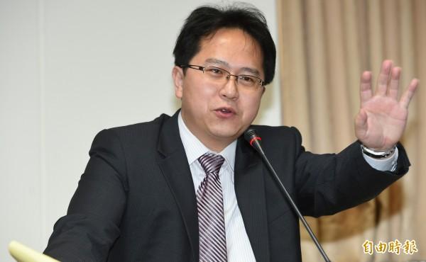 民進黨立委邱志偉。(資料照,記者張嘉明攝)