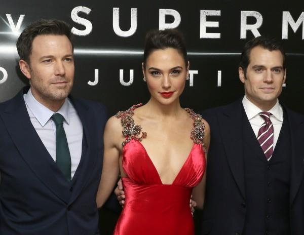 《蝙蝠俠對超人:正義曙光》取消在倫敦首映的紅毯相關活動。(美聯社)