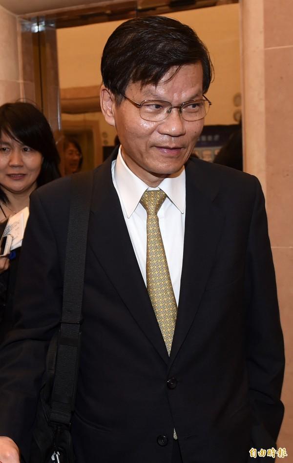 翁啟惠上午回應表示,辦公室已轉發浩鼎董事長張念慈的聲明,其內容正確無誤。(資料照記者簡榮豐攝)