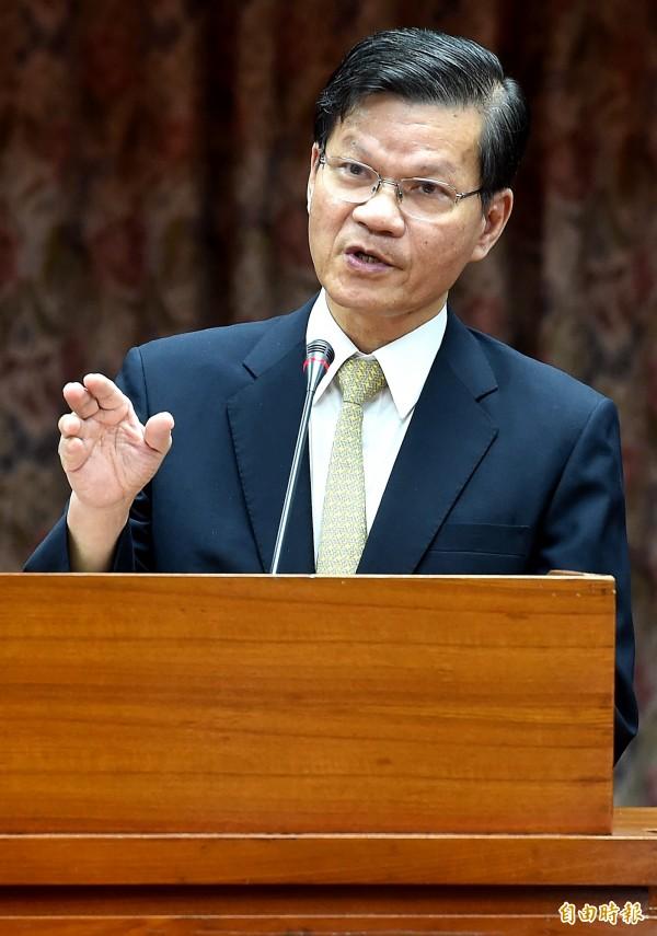翁啟惠因女兒於2012年間購入浩鼎股票而引發爭議,今天發表聲明澄清。(資料照,記者朱沛雄攝)