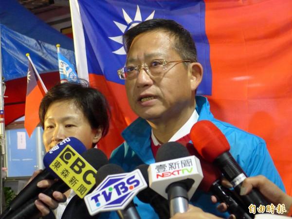 針對黨產歸零議題,趙少康稱,「國民黨宣告破產算了」,吳育昇也認同趙的說法,並說下任黨主席乾脆當破產管理者。(資料照,記者李雅雯攝)