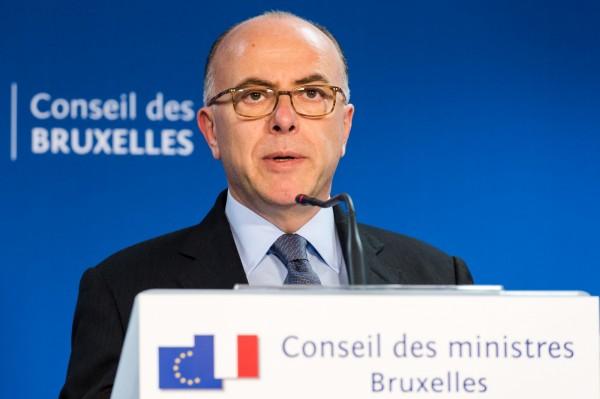 法國內政部長卡澤納夫。(美聯社)