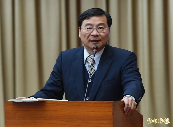 立委曾銘宗曾掌金管會3年,被質疑在擔任金管會主委期間為何不查浩鼎。(資料照,記者張嘉明攝)