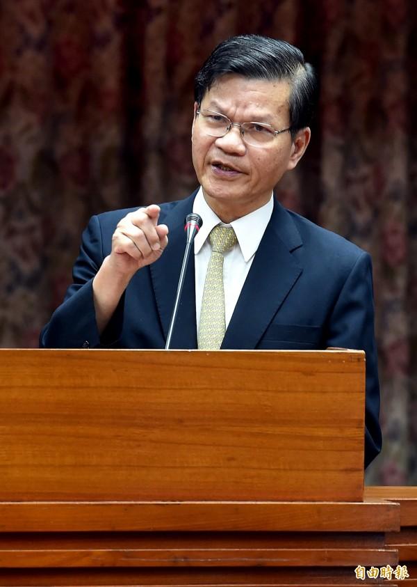 中研院院長翁啟惠疑似涉入浩鼎內線交易案,引起軒然大波。(資料照,記者朱沛雄攝)