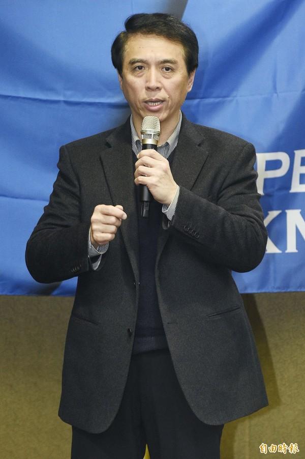 一號候選人陳學聖得票數為6784票,得票率4.83%。(資料照,記者陳志曲攝)