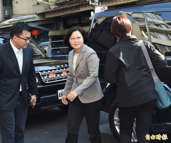 蔡英文當選總統後,日前宇昌案官司已對吳敦義夫婦撤告,且沒有和解條件。(資料照,記者方賓照攝)