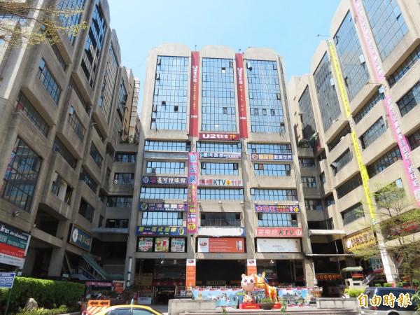 台中市府將打造第一廣場成為東協廣場。(記者張菁雅攝)