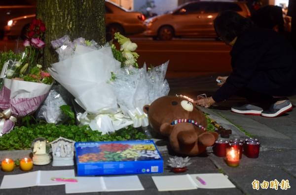 紀言愷昨經過案發現場,替女童哀悼,他感嘆「台灣人太自由了...」(資料照,記者簡榮豐攝)
