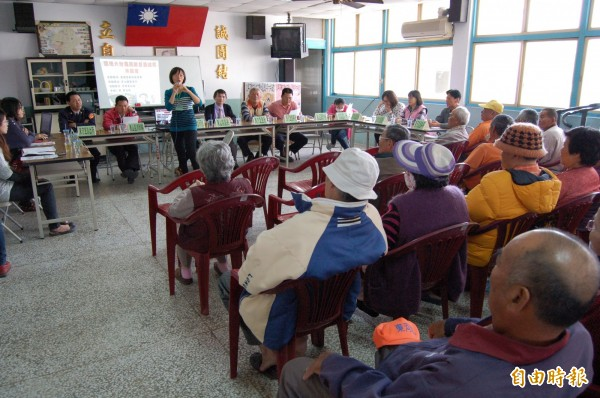 有媒體報導指出,全台灣已有45個超高齡鄉鎮,其中更有5個鄉鎮老年人口比例超過25%。(資料照,記者楊金城)