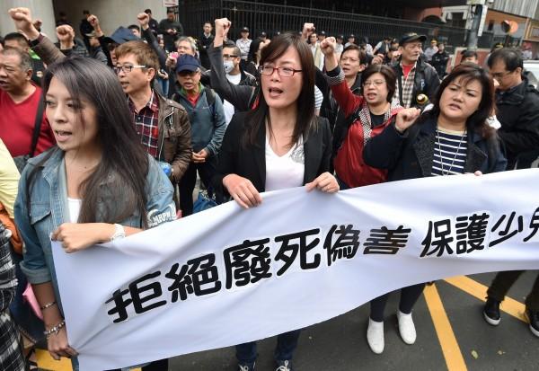 根據TVBS民調顯示,有84%民眾不贊成廢除死刑。(資料照,記者廖振輝攝)