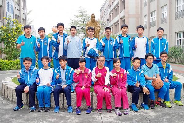 北興國中今年錄取嘉中科學班人數達21人,創該校錄取人數新高。(記者王善嬿攝)