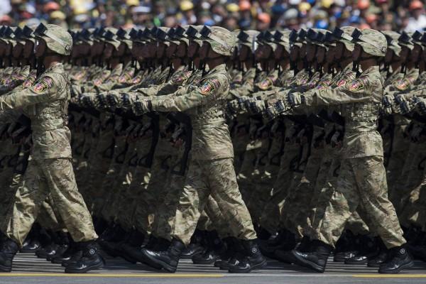 前國防部副部長林中斌認為:「台灣確有潛力成為世界研究解放軍的重鎮,且應該是領先的地方。」(美聯社)