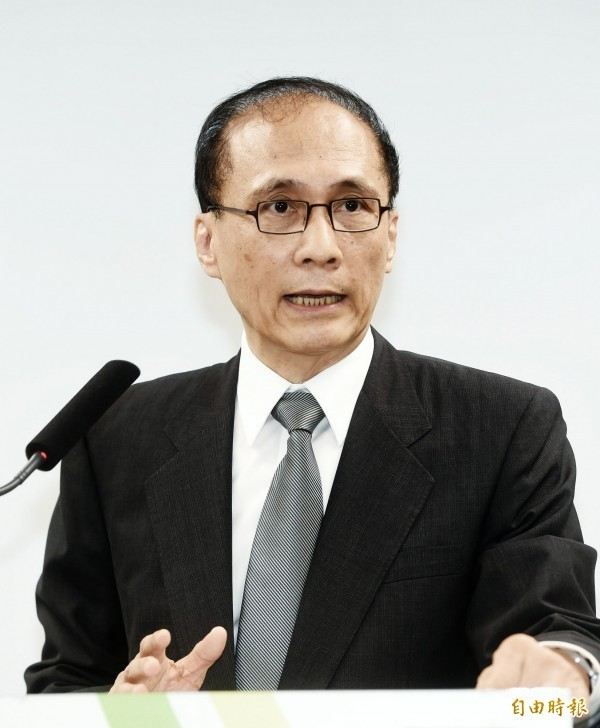 準行政院長林全昨日舉行記者會,公布準內閣名單。(資料照,記者方賓照攝)