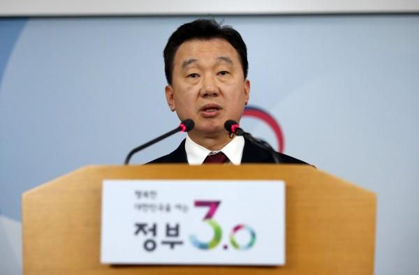 南韓統一部發言人鄭俊熙說,13名脫北者在聯合國決議制裁北韓後,下定決心叛逃。(美聯社)