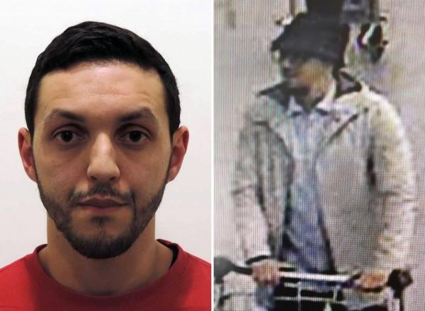 比利時檢察官表示,上週五遭逮捕的布魯塞爾恐攻主嫌阿布瑞尼(如圖)坦承參與布魯塞爾機場的恐攻行動。(法新社)