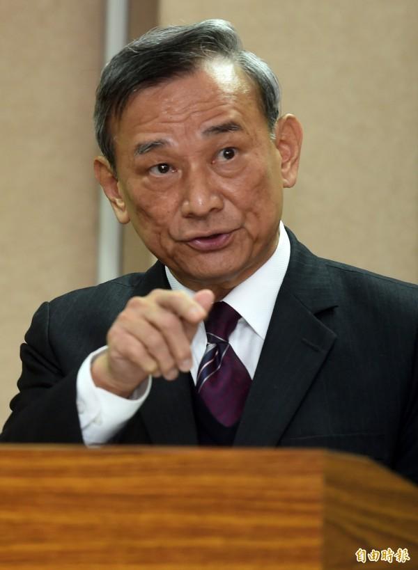8台灣人在肯亞遭押送中國,法務部抗議。(圖為法務部次長陳明堂資料照,記者簡榮豐攝)