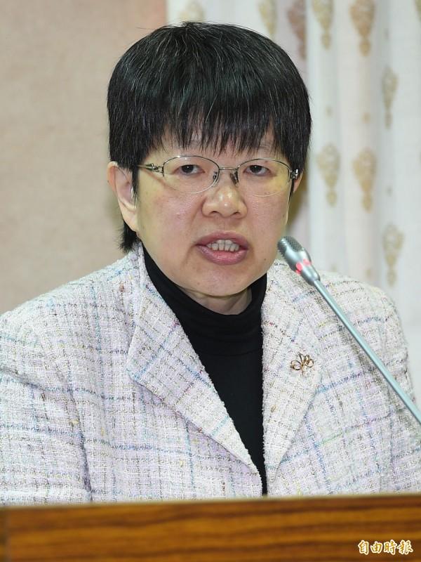 陸委會副主委施惠芬。(資料照,記者張嘉明攝)