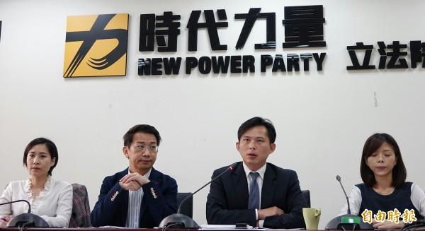 時代力量強烈譴責中國,並呼籲即刻停止相關非法作為,儘速將8名台灣人送回台灣。(資料照,記者劉信德攝)