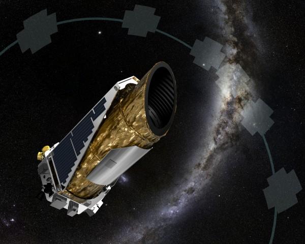 NASA進行例行聯絡時發現克卜勒自行切入緊急狀態,原因不明。(圖擷自NASA)