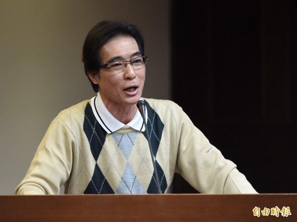 鍾孔炤今日前往鄭麗君的國會辦公室,詢問是否能接手她的辦公室。(資料照,記者簡榮豐攝)