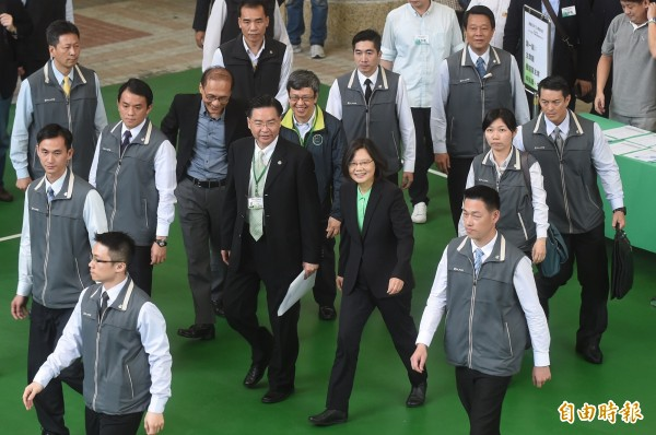 準閣揆林全今天下午將公布第二波內閣人事。(資料照,記者劉信德攝)