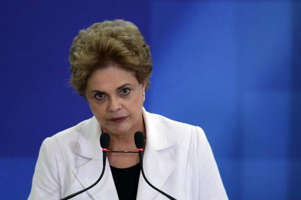 巴西總統羅塞夫。(美聯社)