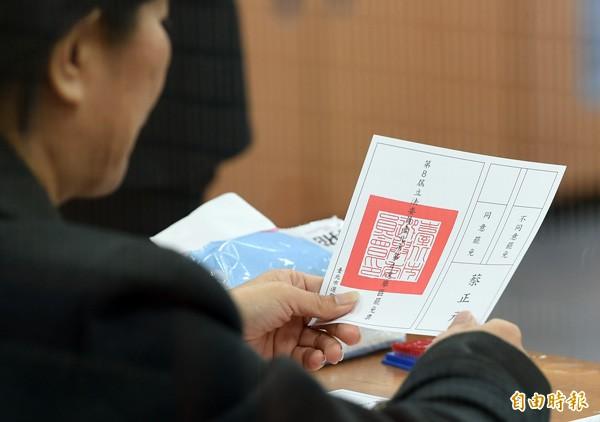 內政委員會昨針對罷免法達成共識,將罷免選舉同意票數達原選舉區選舉人總數四分之一以上為通過。(資料照,記者廖振輝攝)
