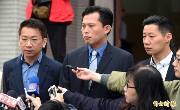 時代力量向中國喊話,應停止強行帶走台灣人與相關卷證的行為。(資料照,記者廖振輝攝)