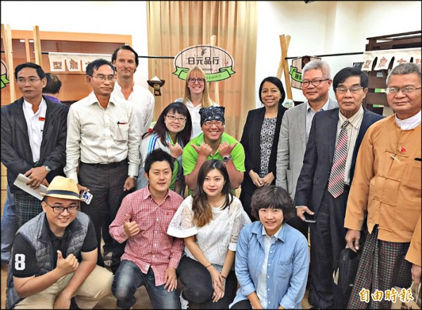 高雄農業軟實力揚名國際,緬甸國會議員首度來台取經高雄經驗。(記者陳文嬋攝)
