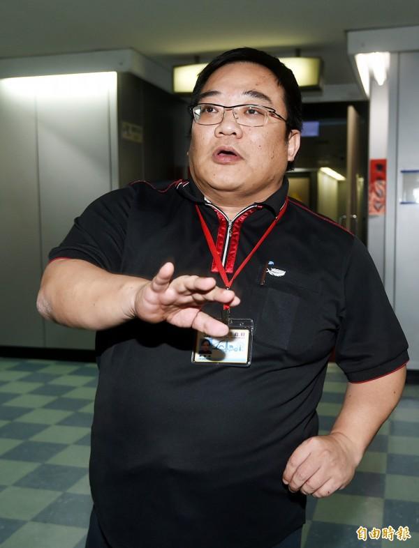 台北市前市政顧問洪智坤打趣地說,羅瑩雪可以超柱趕朱打倒正毅兄弟,變成新的藍營指標人物。(資料照,記者方賓照攝)