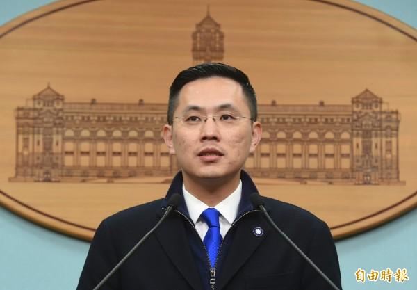 總統府發言人陳以信。(資料照,記者廖振輝攝)