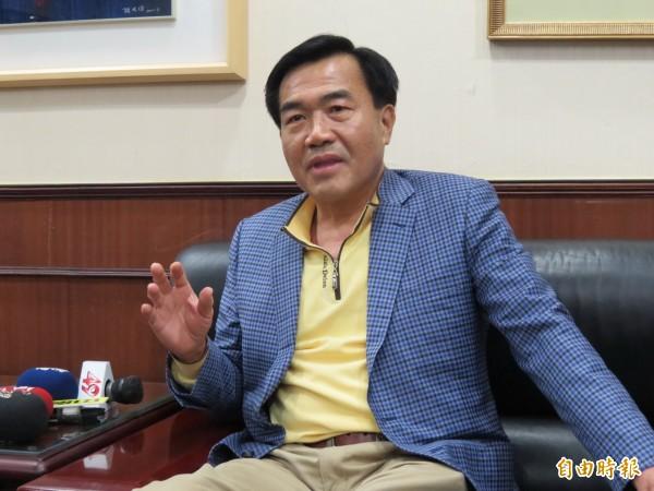 李全教稍早表示,若被判有罪他有意退出政壇。(記者蔡文居攝)