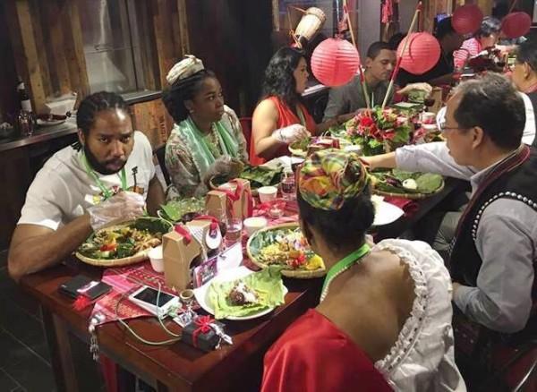 駐台使節、代表出席雲南風味國宴餐會。(市府觀光旅遊局提供)